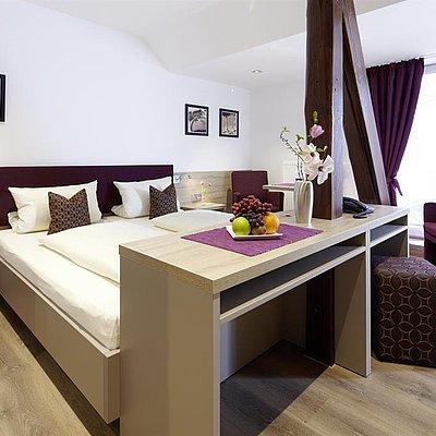 Foto: Doppelzimmer Weingut Apel