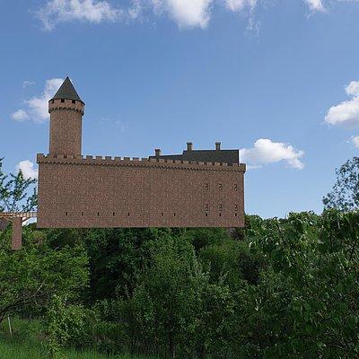 Foto: Burganlage Freudenburg (9)