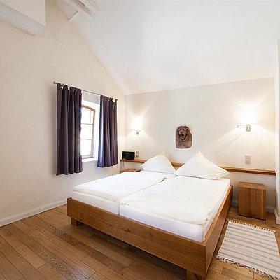Foto: Schlafzimmer Winzerhäuschen