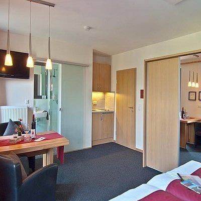 Foto: Premium-Apartement Singleküche