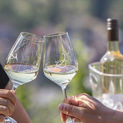 Foto: Wein vom Weingut Klostermühle