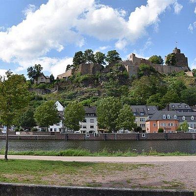 Foto: Die Saarburg