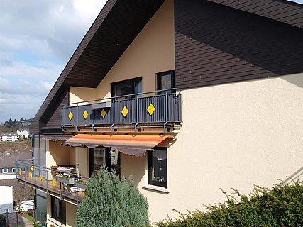 Seitenansicht Balkon