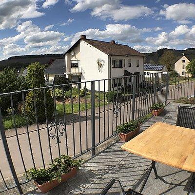 Foto: Der Balkon