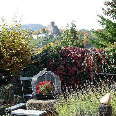 Foto: Garten im Herbst