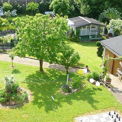 Foto: Gartenbereich