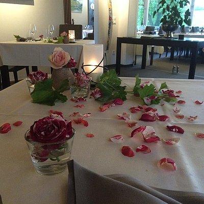 Foto: Romantischer Tisch