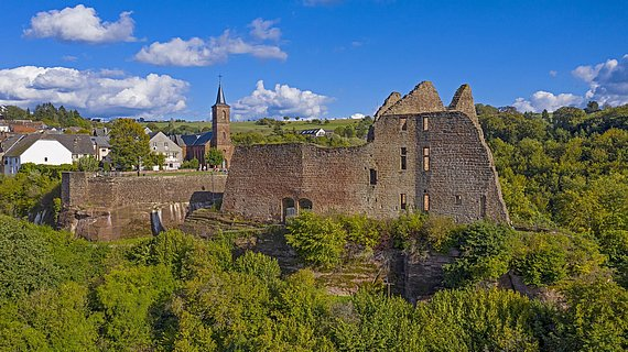 Burganlage Freudenburg