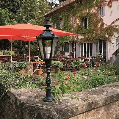 Foto: idyllischer Innenhof