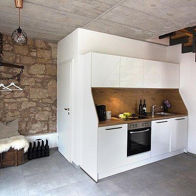 Foto: Küche und Garderobe