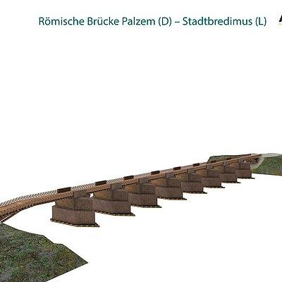 Foto: Römische Brücke Palzem (2)