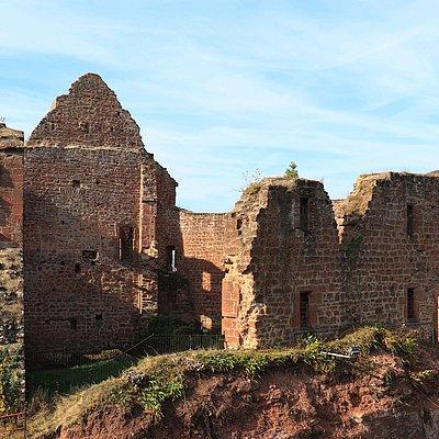 Foto: Burganlage Freudenburg