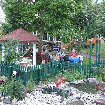 Foto: im Garten