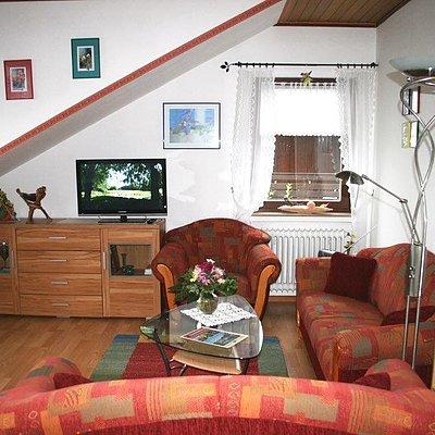 Foto: Ferienwohnung Wohnzimmer