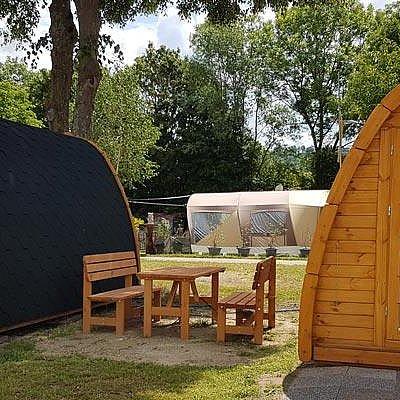 Foto: Campinghütte
