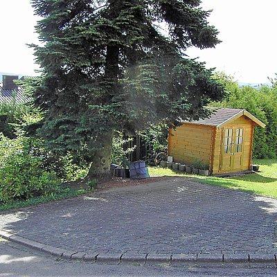 Foto: Parkplatz für FEWO