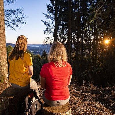 Foto: Aussichtspunkt mit Blick auf Saarburg (03)
