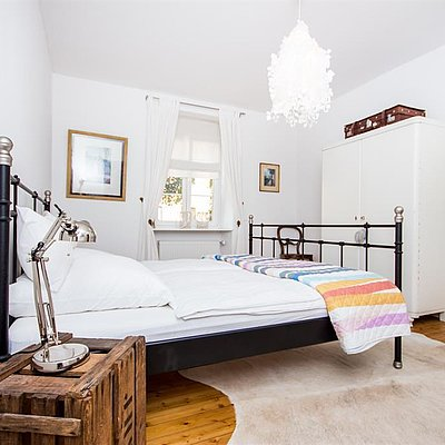 Foto: Schlafzimmer Ferienwohnung