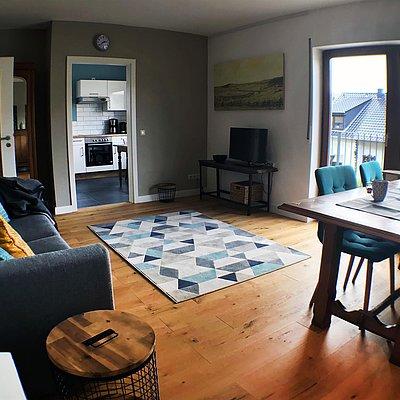 Foto: Das Wohnzimmer, Ort für gemütliche Stunden.