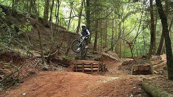 Mountainbike-Parcours Trassem