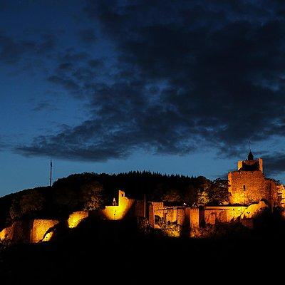 Foto: Burganlage Saarburg (04)