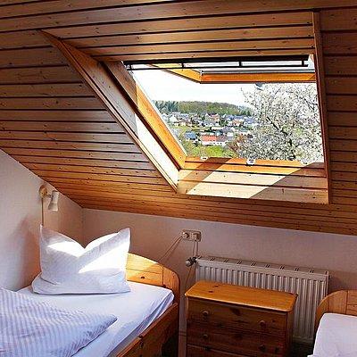 """Foto: 2 Schlafzimmer im """"Heuboden"""""""